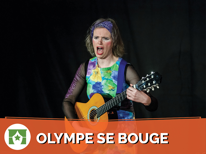 Olympe / Olympe se bouge